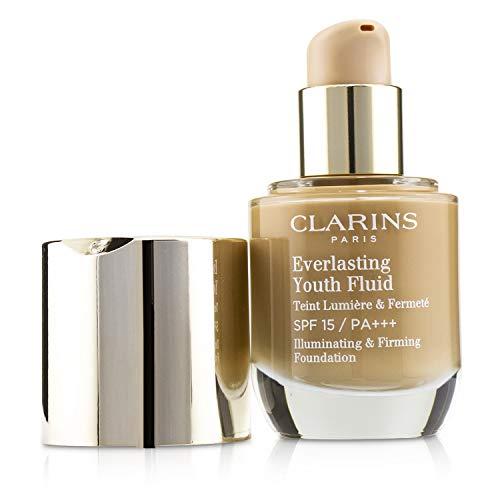 Clarins Everlasting Youth Fluid SPF 15 Foundation, Cappucino, 30 ml
