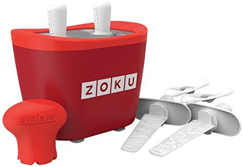 Zoku M285378 - Maquina Helados Doble Rojo