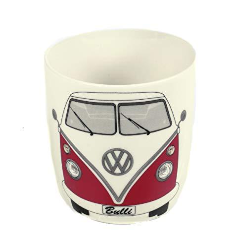 Kaffeetasse 370 ml, T1 Bus Bulli, Kaffeebecher im Geschenkkarton aus New Bone China-Porzellan, Sammler-Stück, Retro-Design