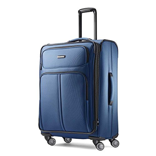 Samsonite Leverage LTE Softside - Maleta Extensible con Ruedas giratorias, Poseidon Azul (Azul) - 91998-5470
