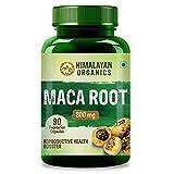 Best Maca Powders - Himalayan Organics Maca Root Extract 800mg   90 Review