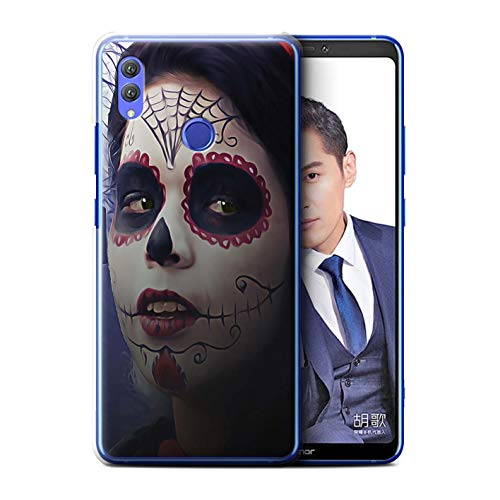 eSwish Phone Case/Cover/Skin/HUAHY-CC/Dag van de Dode Festival Collectie Huawei Honor Note 10 Halloween make-up
