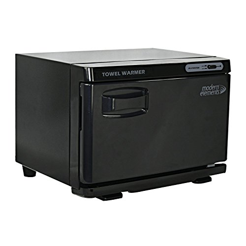 Modern Elements JLS-502 Small Hot Towel Warmer, Black