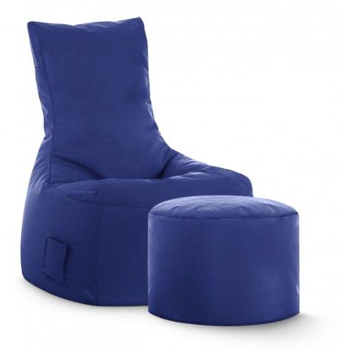 SITTING POINT only by MAGMA Sitzsack-Set Scuba Swing + Hocker dunkelblau