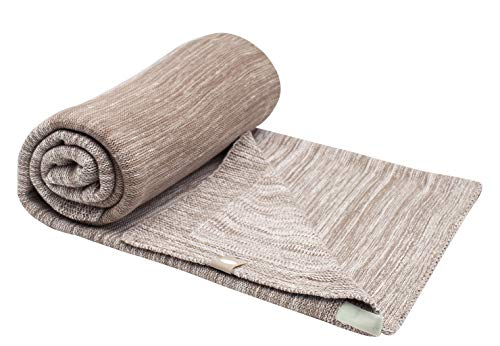 Snoozebaby simple couche couverture lit (Desert Taupe)