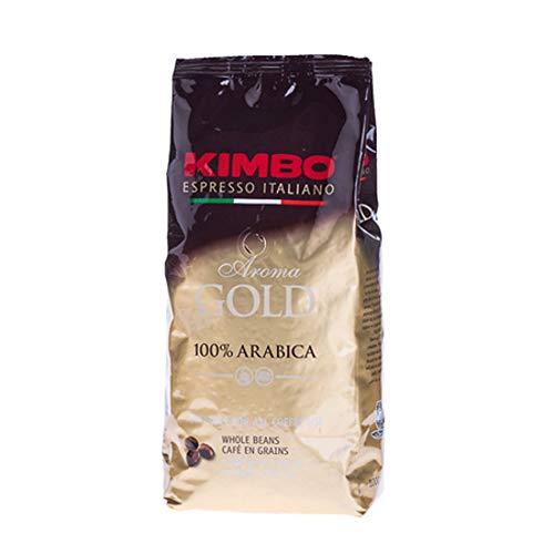 Kimbo Gold Espresso, 100% Arabica Espresso-Bohnen, 1 kg