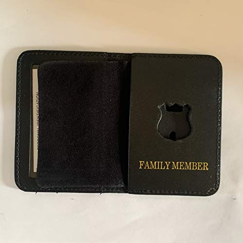 MINI POLICE OFFICER FAMILY MEMBER COURTESY SHILED AND ID WALLET