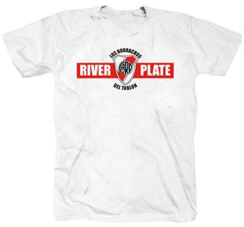 River Plate Argentina Football Club Ultra Buenos Aires Ultras T-shirt shirt Maglietta bianco XL
