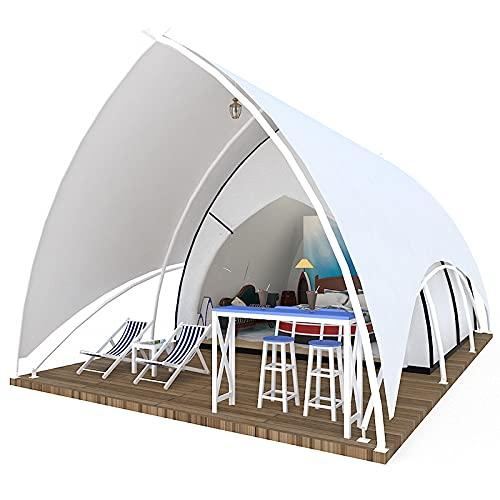 Tienda de toldo tienda al aire libre camping hotel tienda vela concha playa playa playa carpa grande