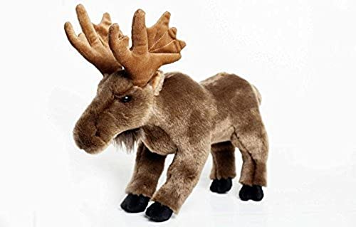 Moose Stuffed Plush Animal - Cabin Critters North American Wildlife Collection by Cabin Critters