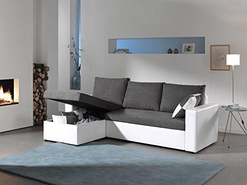 Canapé d'angle 4 places Pas cher Contemporain