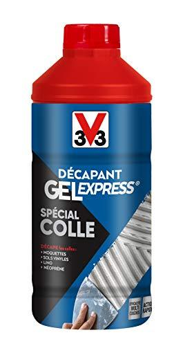 V33 Décapant gel express® spécial colle 1L