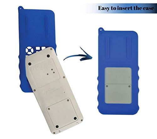 Silicone Case for Ti 84 Plus CE Calculator (Blue) - Cover for Texas Instruments Ti-84 Graphing Calculator - Silicon Skin for Ti84 Plus - Protective & Anti-Scretch Cases - Ti 84 Accessories by Sully Photo #3