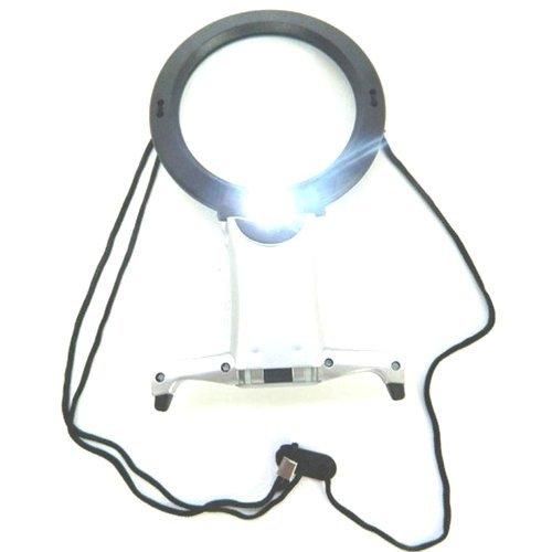Lente di Ingrandimento da Lettura - 2 LEDs ultra luminoso