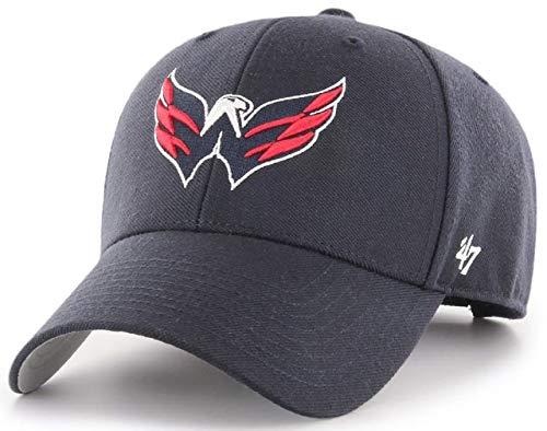 47Brand NHL Washington Capitals Cap Basecap Baseballcap MVP Adler Navy Kappe