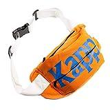 Kappa Cabala Unisex Gürteltasche, Orange / Blau / Weiß
