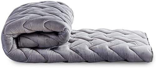 HKX Topper de colchón de futón, futón Tradicional, Alfombrilla de Espuma viscoelástica, Alfombrillas de cojín Plegables-A 120x200cm (47x79inch)