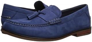 [コールハーン] メンズ 男性用 シューズ 靴 ローファー Pinch Friday Tassel Contemporary - Marine Blue Nubuck [並行輸入品]
