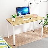 sogesfurniture Mesa de Ordenador Escritorios para Computadora, 120x60 cm Escritorio de Oficina Mesa de PC Mesa de...