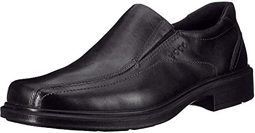 ECCO Men's Helsinki Slip-On,Black,45 EU (US Men's 11-11.5 M)