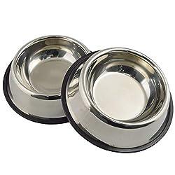 Image of Mlife Stainless Steel Dog...: Bestviewsreviews