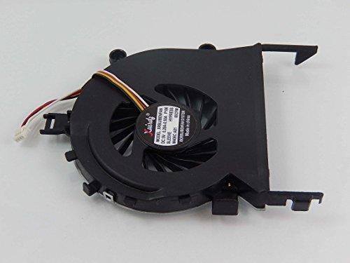 vhbw Ventilador CPU/GPU con Clavija de 4 Pines Compatible con Acer Aspire 5820T, 5820TG Notebook, portátil