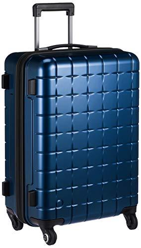 [プロテカ] スーツケース 日本製 360Tメタリック キャスターストッパー付 保証付 45L 55 cm 3.7kg ネイビー