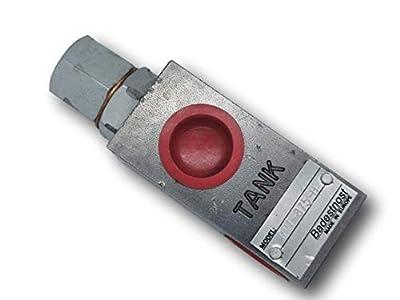 Adjustable Hydraulic Pressure Relief Valve 3/4' NPT RVT-875H 20gpm 1000-2500psi by Badestnost