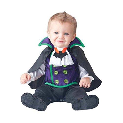 PerGrate - Disfraz de Halloween para bebé, diseño de animales, 10, 90