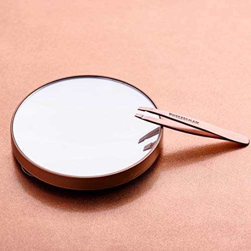 Tweezerman Rose Gold Mini Slant pincet