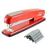 Mr. Pen- Stapler with Staples, Red Stapler, 1000 Staples, Staplers for Desk, Staplers Office, Office Stapler, Desk Stapler, Metal Stapler, Standard Stapler, Stapler and Staple, Stapler Office Supplies