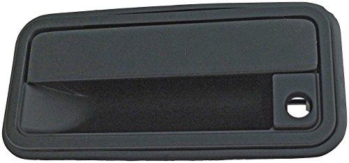 Dorman 77096 Front Driver Side Exterior Door Handle for Select Chevrolet / GMC Models, Black