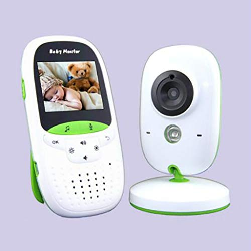 BABY MONITOR ZLMI Moniteur pour bébé Écran portatif Interphone Vocal bidirectionnel Moniteur LCD à Contraste élevé 2,0\