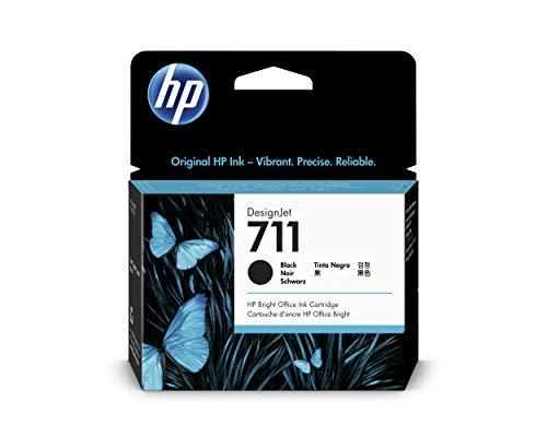 HP CZ133A 711 Cartucho de Tinta Original, 1 unidad, negro