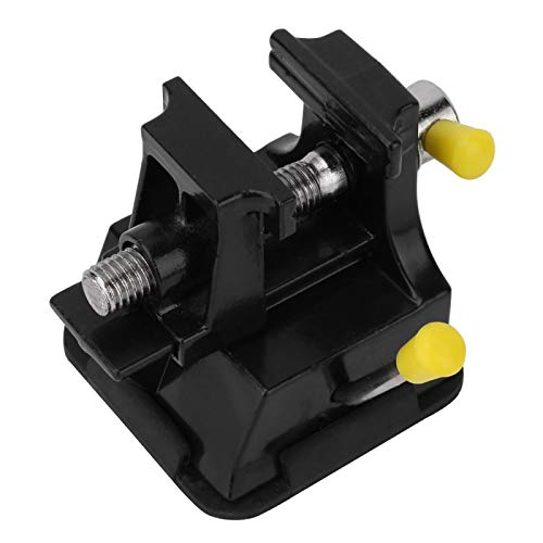 Schraubstock, Bohrmaschinenschraubstock, Universal-Mini-Tischschnitzschraubstock aus Aluminiumlegierung mit Saugfuß-Schnitzklemme Bohrzubehör