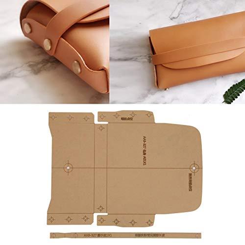 Notebook Cover Template Set, Brieftasche Werkzeuge für Zigarettenanzünder Beutel DIY