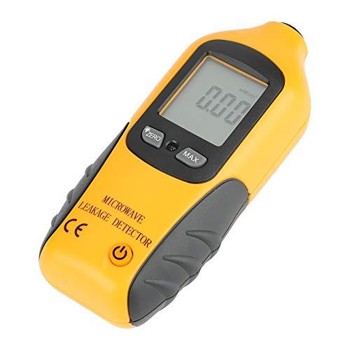 Rilevatore di microonde ad alta precisione HT-M2 Display LCD digitale Rilevatore di perdite a microonde Misuratore di radiazioni Tester Alta sensibilità alle radiazioni e funzione di allarme incorpora