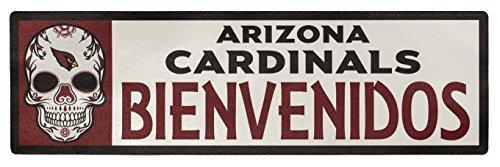 Applied Icon NFL Dallas Cowboys Bienvenidos Outdoor-Aufkleber, Unisex, Arizona Cardinals Bienvenidos Outdoor Step Graphic Aufkleber, NFSG0103, rot, 6