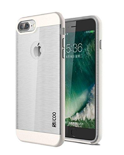 Ultra Sottile, Leggera e Trasparente Dual Layer iPhone 7 Custodia/Custodia in Silicone (TPU) – Slim Handy Soft Case – Antiscivolo, antisporco, Ammortizzante.