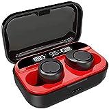 Drohneks Mini écouteur Bluetooth sans Fil dans l'oreille Sport avec écouteurs Micro Mains Libres, Gris