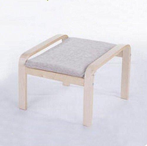 Tabouret en bois Chaise berçante nordique balcon paresseux chaise berçante en bois massif chaise longue chaise longue chaise berçante femmes enceintes tabouret (Couleur : #3)