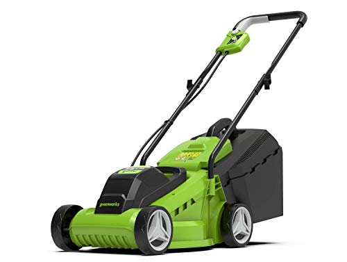 Greenworks Elektro akku-rasenmäher...