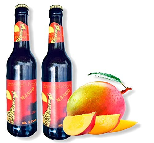 6x Serengeti Mango Bier 0,33 l Bier aus Tansania, Kilimanjaro Beer