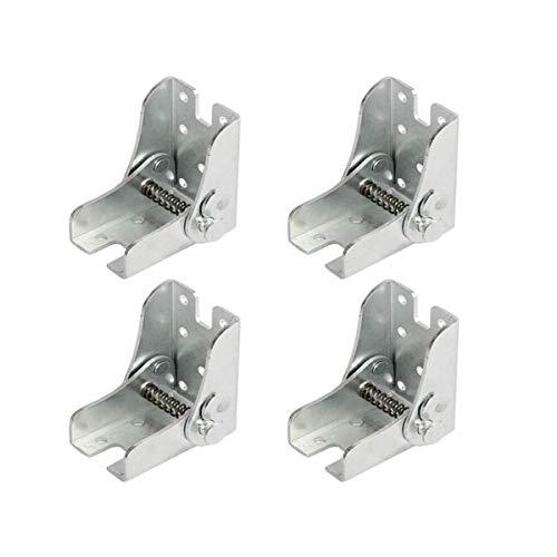 Marco de soporte plegable - bisagras autoblocantes - accesorios para patas y anclajes - para patas plegables Extensión para mesa de cocina plegable | Cuarto de lavado Barco | Leer | Tabla | mobiliario
