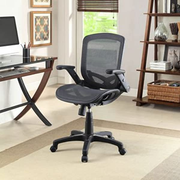 Metrex Mesh Task Chair Heavy Duty Five Star Base With Foot Rest Relaxing And Comfortable Seating Chair Perfect For Office And Study Room Captivating And Unique Design Flexible Chair