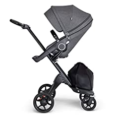 Raises your baby higher to promote eye contact and connection Suitable from birth Multiple parent and forward facing stroller seat positions Suitable for toddlers up to 15kg/33 lbs with the Stokke Stroller Seat Part of a travel system when combined w...