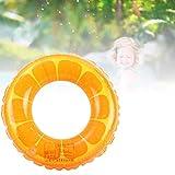 Lubudup Colchoneta hinchable para piscina, diseño de rosquilla, adecuada para piscinas, playa y lagos, 60/70/80/90 cm