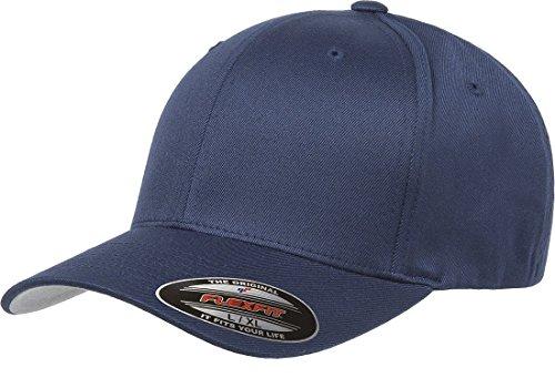 Flexfit Mens Men's Athletic Baseball Fitted Cap Hat, Navy, Large-X-Large US