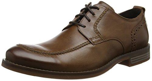 Rockport Wynstin Apron Toe, Zapatos de Cordones Oxford Hombre, Marrón (Brown), 42 EU