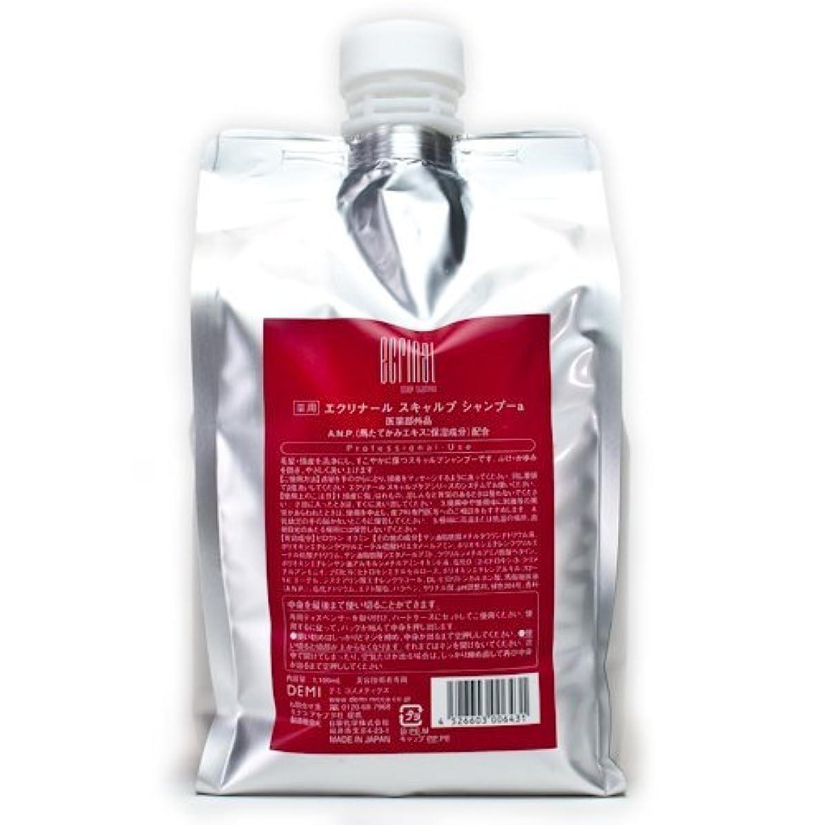 オペレーター素子クレジットデミコスメティクス エクリナール スキャルプシャンプー 1100ml (医薬部外品)